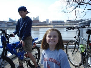 Biking on the River