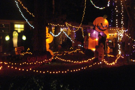 Halloween Maze in Old Town